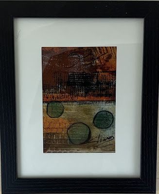 """Expressionism, Contemporary Painting, Framed Abstract Art, """"Context"""" by Texas Contemporary Artist Sharon Whisnand"""