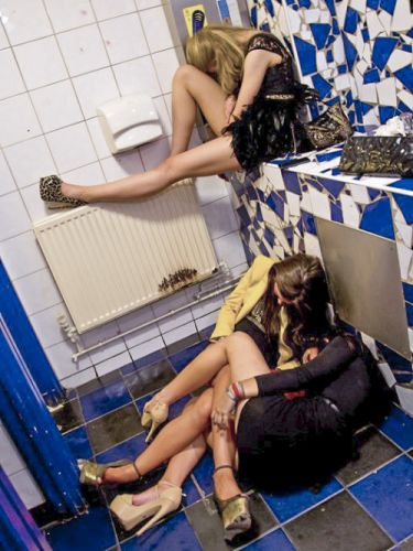 """British teenage girls are some of the heaviest drinkers in"