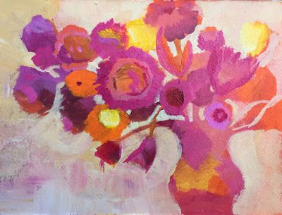 "Contemporary Floral, ""Imagine,"" by Amy Whitehouse"