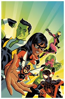 Marvel Comics: Champions Issue 1 variant cover