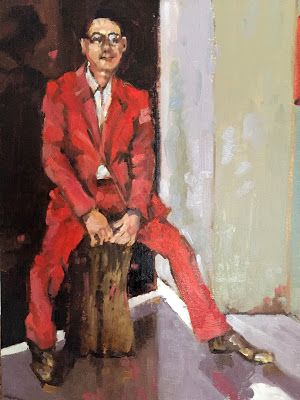 Man in a Red Suit