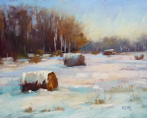Painting the Winter Landscape is Easy!