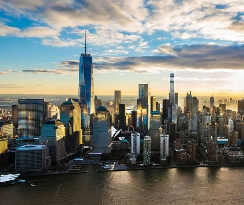 Downtown New York's Tallest Residential Skyscraper Tops Out