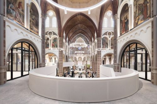 Rethinking Sacred Spaces for New Purposes