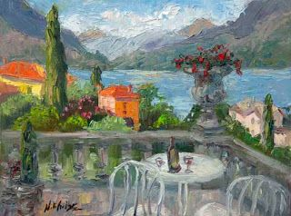 Day 7, Lake Como Art Trek with Niki Gulley and Scott Williams