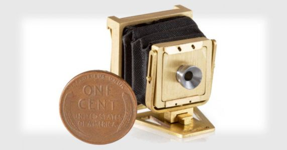 This is the World's Smallest View Camera