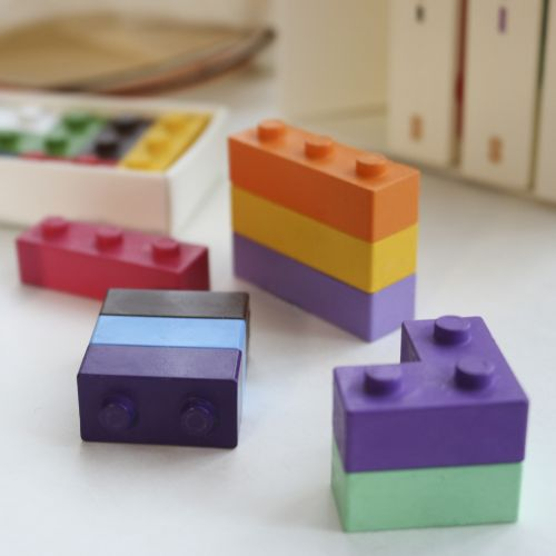 Create a Kaleidoscopic Coloring Experience with goober's Stackable Block Crayons