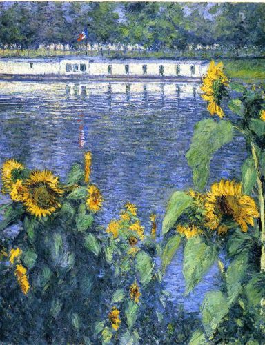 Worth a Thousand Words: Sunflowers on the Banks of the Seine
