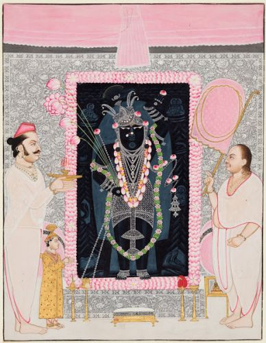 Shrinathji paintings from the Cleveland Museum of Art