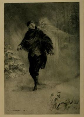 Frederick Simpson Coburn, Illustration from 'The Legend of Sleepy Hollow' by Washington Irving (1899) - Frontispiece