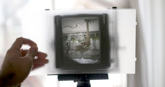 Turn a Broken Laptop's Screen Into a View Camera Ground Glass