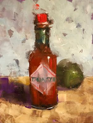 """Tabasco Time"", 6x8"""