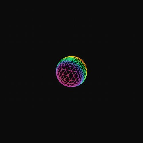 Bursts of Dazzling Shapes Create Technicolor Orbits in GIFs by Marcus Martinez