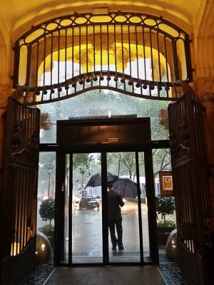 Rainy Day at Hotel Casa Fuster