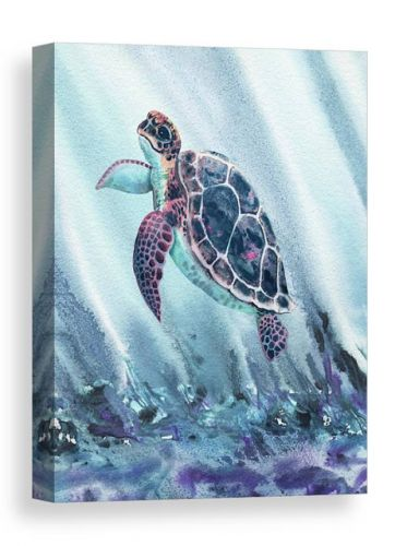 Sea And Ocean Creatures In Watercolor Bestselling Paintings by Irina Sztukowski