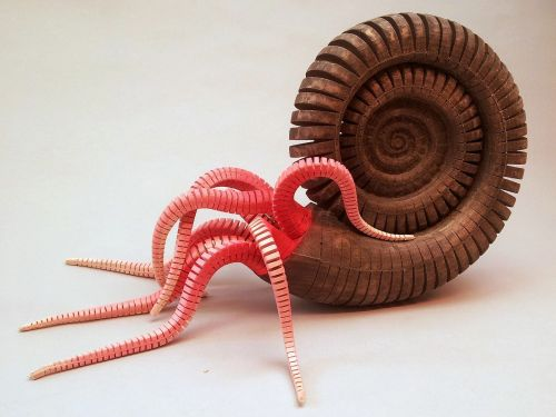 Charming Wooden Animal Sculptures Designed with Articulated Torsos and Tails by Jeff Soan