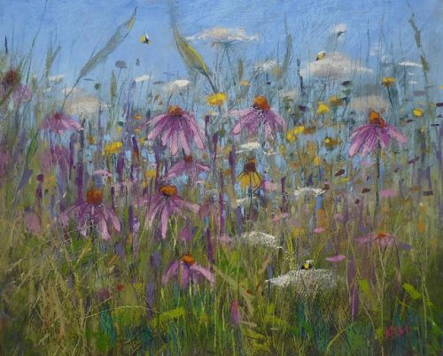 How Can You Use a Palette Knife with Pastel?