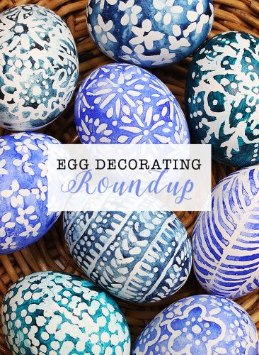 Egg decorating roundup