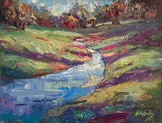 """""""Purple Shadows"""" from the Willow City Loop by Niki Gulley"""
