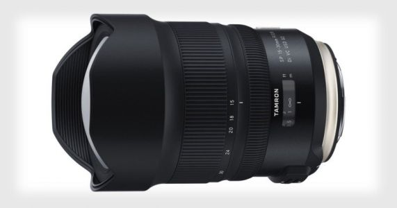Tamron Unveils the 15-30mm f/2.8 VC G2 for Canon EF and Nikon F