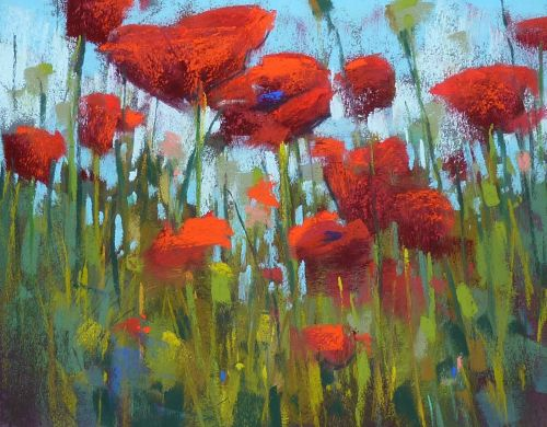 Some Tips for Painting Poppies