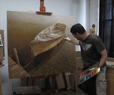 Painting demo at Kittery Art Association 6:30 - 8:30pm