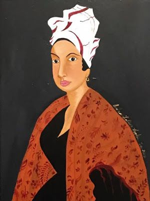 Portrait of New Orleans famed Voodoo Queen, Marie Laveau!