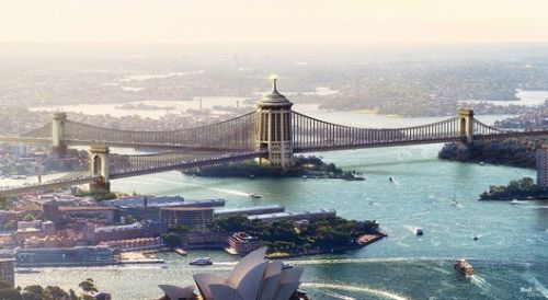 What Sydney Harbour Bridge Could Have Looked Like