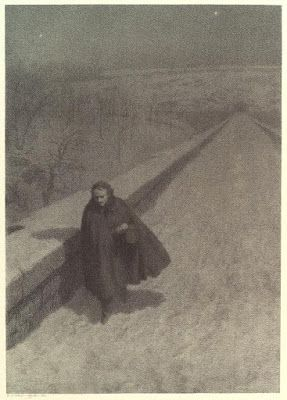 Bernard Jacob Rosenmeyer, Edgar Allan Poe Walking High Bridge