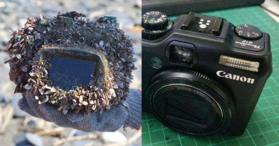 This Camera Was Lost at Sea for 2 Years - Its Photos Just Led to Its Owner