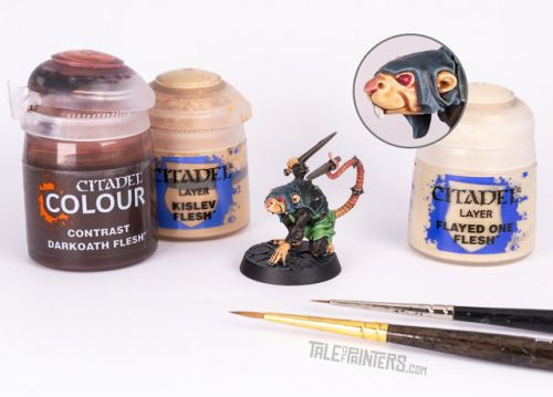 Tutorial: How to paint Skaven skin with Contrast paints