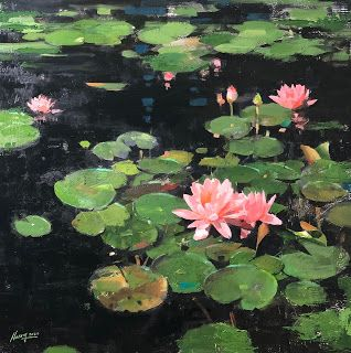 """""""Mayfield Water Lilies"""""""