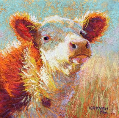Fuzzy Hereford Paint-Along on Saturday!