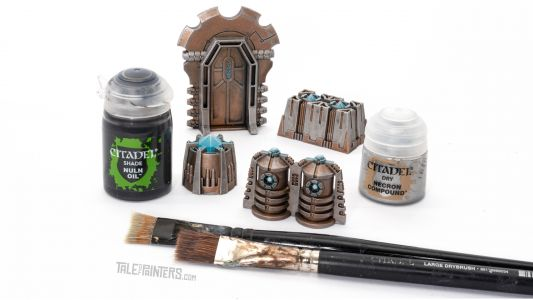 Tutorial: How to Paint Pariah Nexus Necron Terrain Fast