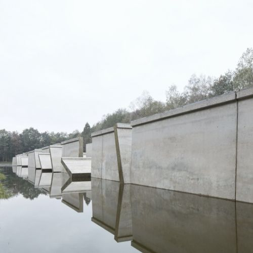 "RAAAF and Atelier de Lyon's Monumental ""Deltewerk"" is a Tribute to the Majesty of Dutch Flood Defenses"