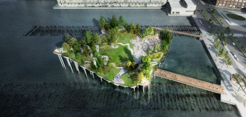 Construction of Heatherwick's Pier 55 is Underway