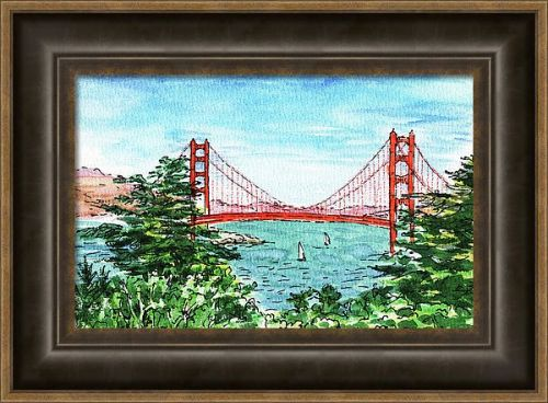 Golden Gate Bridge Plein-Air Paintings