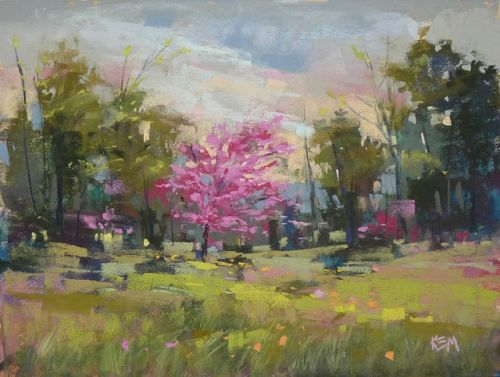 New Pastel Demo Video: A Spring Landscape Painting
