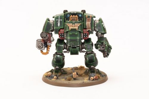 Showcase: Dark Angels Redemptor Dreadnought