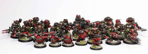 Showcase: Space Orks Tank Hunterz