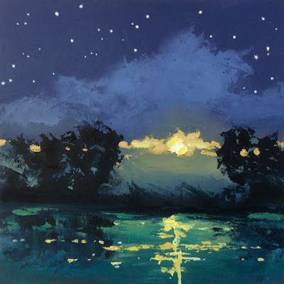 MOON AND STARS, NOCTURNE by TOM BROWN