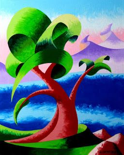 Mark Webster - Abstract Landscape Oil Painting