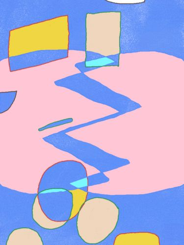 Shane Beam: Playful, Colorful Motion AbstractionsShane Beam is