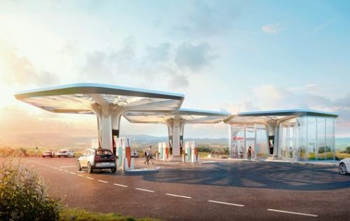 GRAFT Designs Modular Ultra-Charging Stations for E.ON Drive