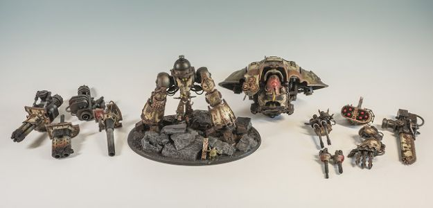Tutorial: Magnetizing an Imperial Knight Questoris