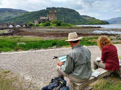 Reflections on Painting Retreats
