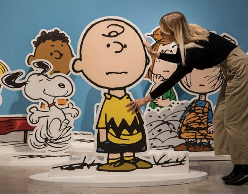 Happy birthday Charles Schultz, the Father of Charlie Brown