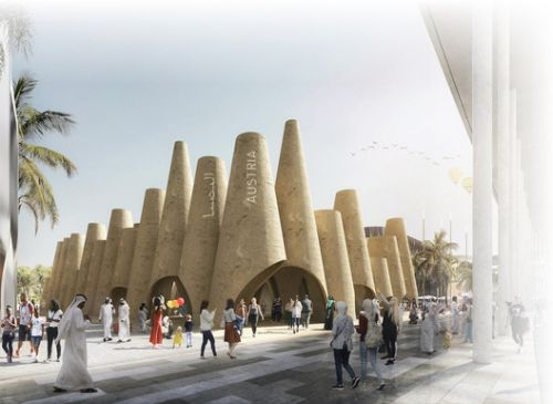 Querkraft to Design Austria's National Pavilion for EXPO 2020 in Dubai