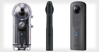 Ricoh Theta V is a 360-Camera with 4K, Spatial Audio, and Live Streaming