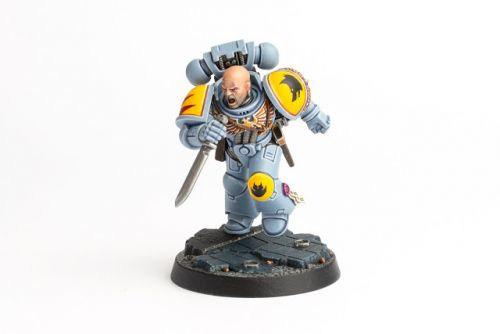 Showcase: Space Wolves Space Marine Heroes Brother Aethor
